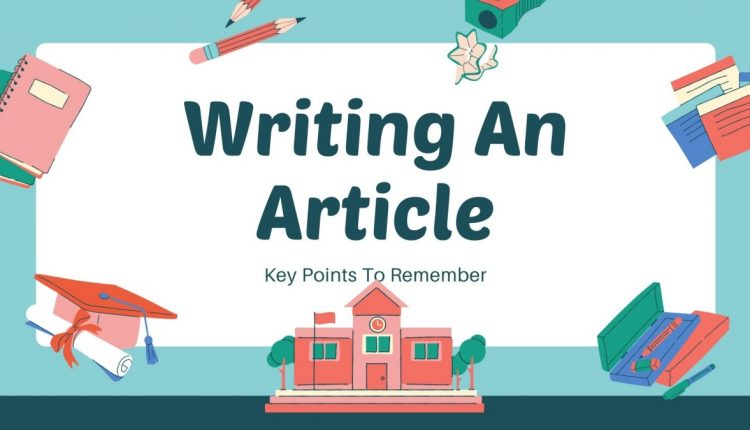 article writing point