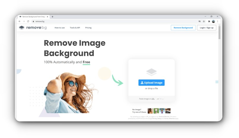 Remove Background Image
